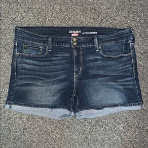Almost new jean shorts